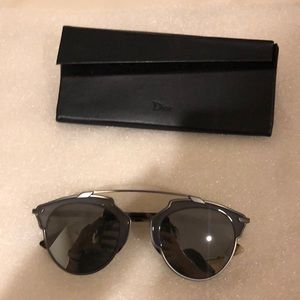 Dior Sunglasses with minor scratch worn few times
